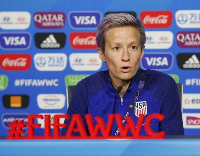 Rapinoe slams FIFA over schedule, prize money