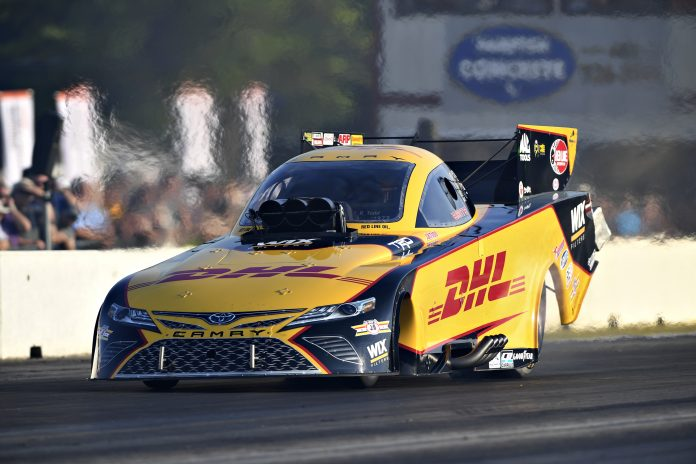 TODD QUICKEST FUNNY CAR IN EPPING QUALIFYING FRIDAY