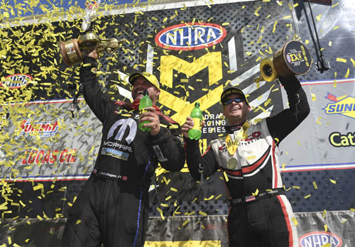 HAGAN AND TORRENCE REPEAT AS WINNERS AT SEVENTH ANNUAL NHRA NEW ENGLAND NATIONALS