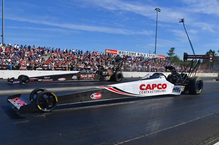 TORRENCE CONTINUES DOMINATION WITH TOP FUEL VICTORY AT NEW ENGLAND NATS