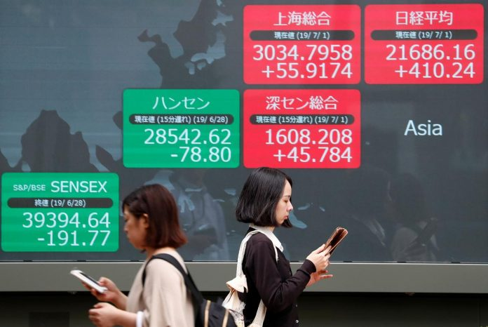 Asia stocks fall as Fed rate cut bets dialed back, Europe to follow