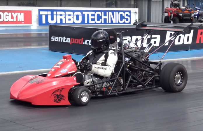 Purpose-Built Drag Karts Are A Real Thing, And They Fly!