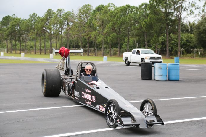 GARLITS TO ATTEMPT WORLD SPEED RECORD AT PBIR