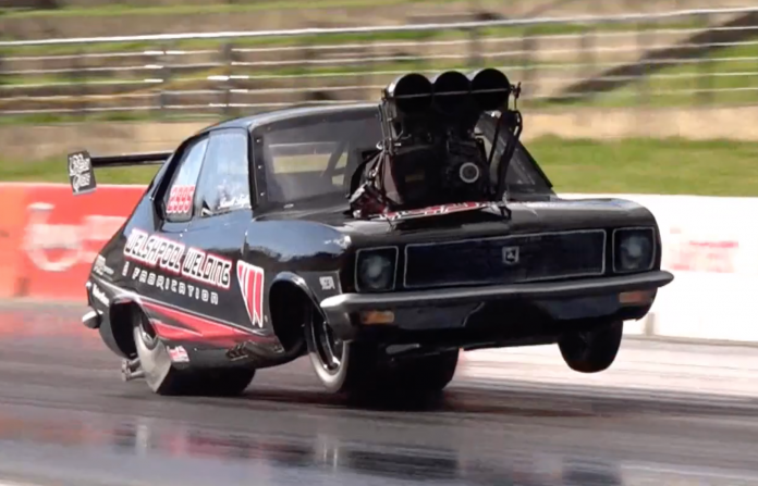 Russell Taylor's Screw-Blown Torana Is A Deranged Beast!