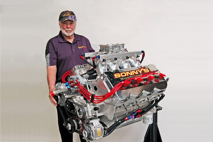 1,400-HP Sonny Leonard Engine To Be Raffled At The 2019 PRI Show