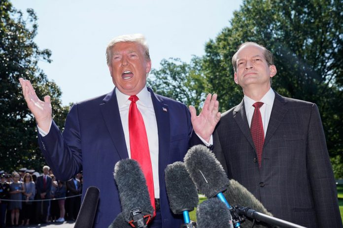 Trump's Labor Secretary Acosta resigns amid Epstein case