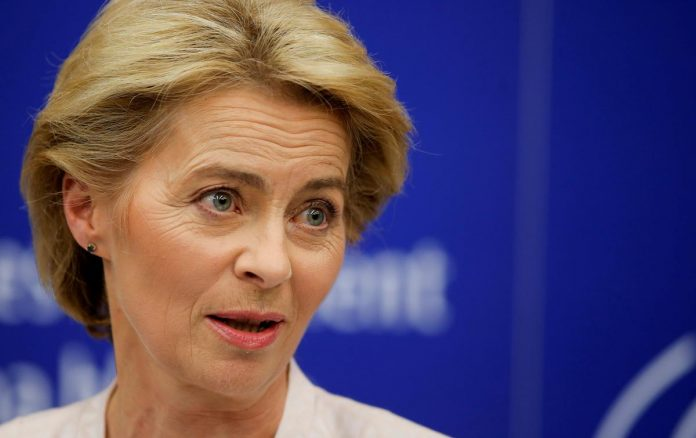 Incoming EU chief von der Leyen says 'we don't want a hard Brexit'