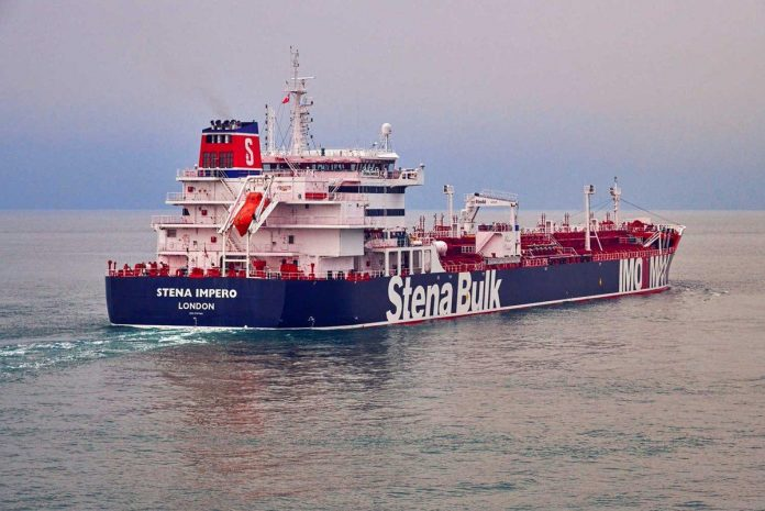 Iran says UK-flagged tanker 'ignored distress call,' taken to Bander Abbas