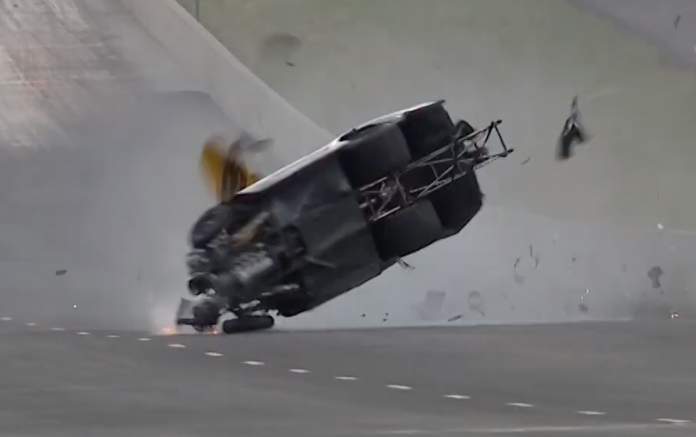 Pro Stock's Kenny Delco Uninjured In Denver Crash