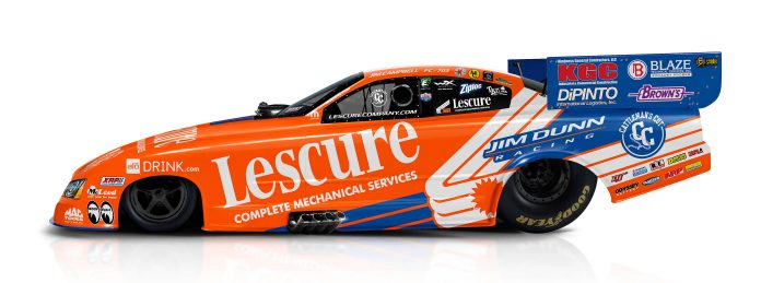 NORTHERN CALIFORNIA'S LESCURE COMPANY TO SPONSOR JIM DUNN RACING AT SONOMA