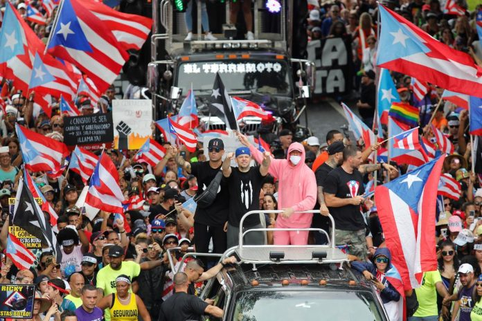 Puerto Rico governor to resign, protesters warn successor: 'You're next!'