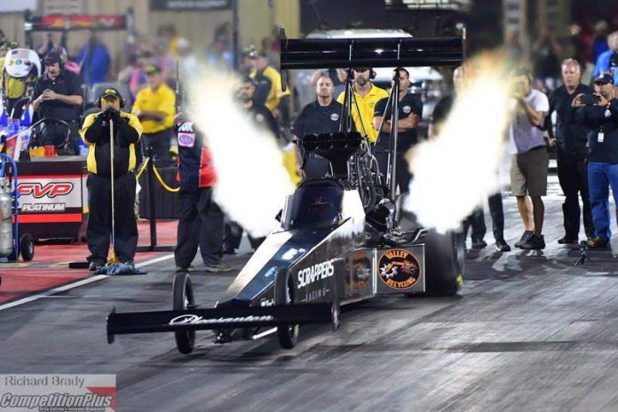 SALINAS PLANS TO RUN REST OF NHRA SCHEDULE