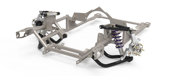 Speedtech Performance Subframe And Spindle For Camaro And Nova