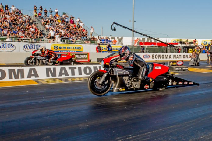 HINES WINS MICKEY THOMPSON PRO BIKE BATTLE