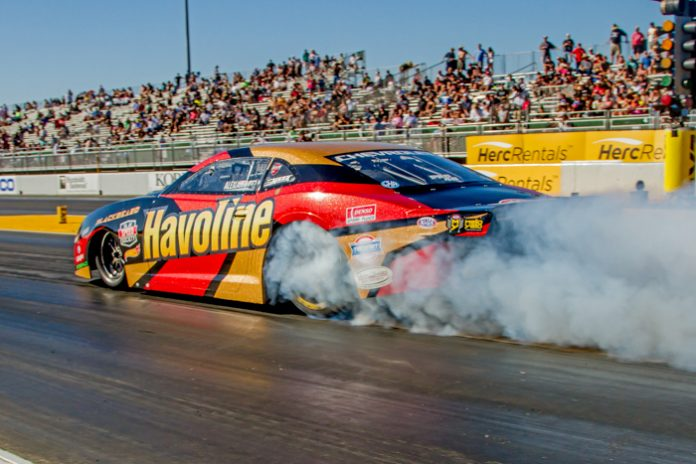 ALEX LAUGHLIN DRIVES TO THE NO. 1 QUALIFYING SPOT IN PRO STOCK AT SONOMA