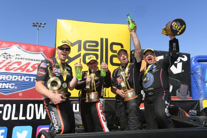 HIGHT, B. TORRENCE, ANDERSON AND HINES PICK UP WINS AT NHRA SONOMA NATIONALS