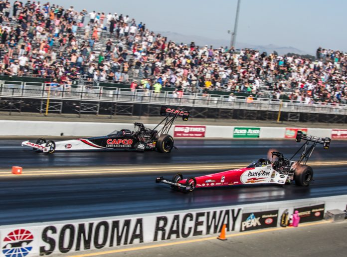 TORRENCE WINS TOP FUEL IN SONOMA, BUT THIS TIME IT'S BILLY
