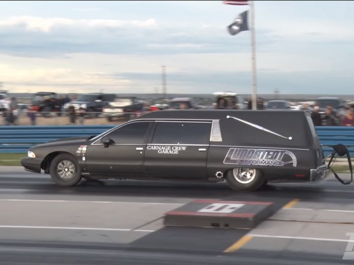 Jason Pickett's Boosted Caprice Hearse