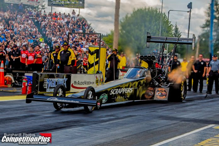 SALINAS, TASCA AND COUGHLIN SEAL NO. 1 QUALIFIERS AT NHRA NORTHWEST NATIONALS