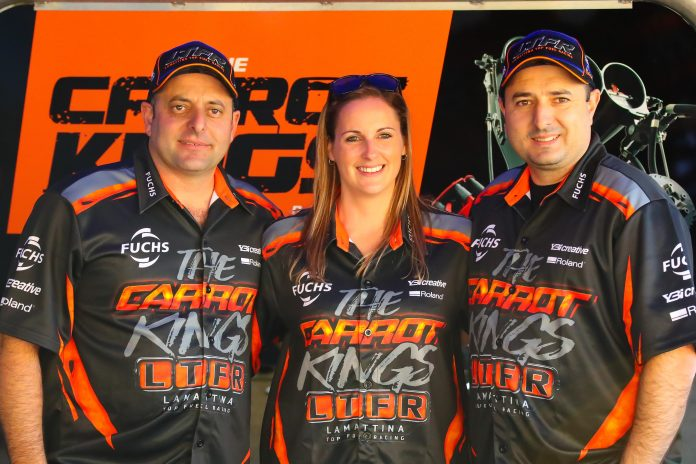 LAMATTINA BACK IN, BETTES OUT IN LTFR DRAGSTER