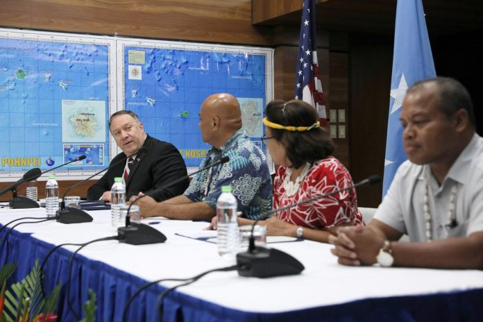U.S. seeks to renew Pacific islands security pact to foil China