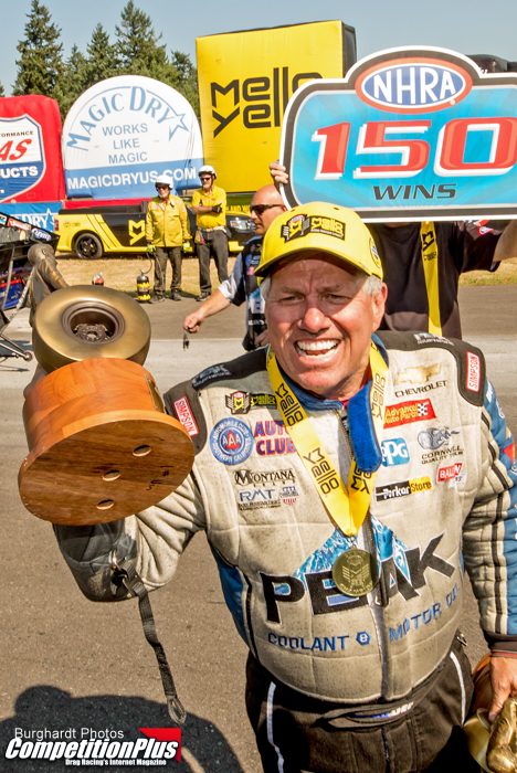 JOHN FORCE CAPTURES HISTORIC 150th WIN AT SEATTLE
