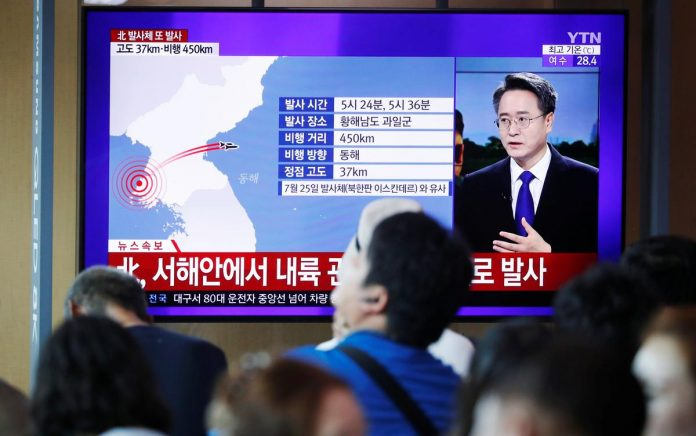 'We will make them pay': North Korea launches missiles, condemns U.S.-South Korea drills