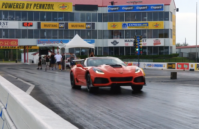 Hennessey's 8-Second HPE1200 Upgraded C7 ZR1 On The Strip