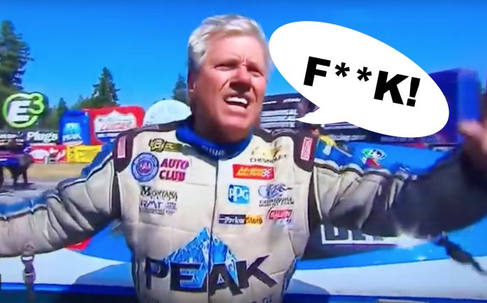 What's It Cost A Drag Racer Who Drops The F-Bomb On TV, Anyway?