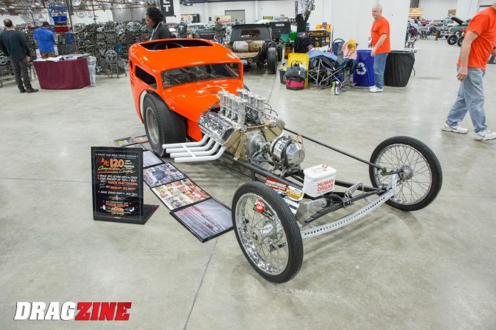 Rich Martin's Nostalgia Front Engine Dragster