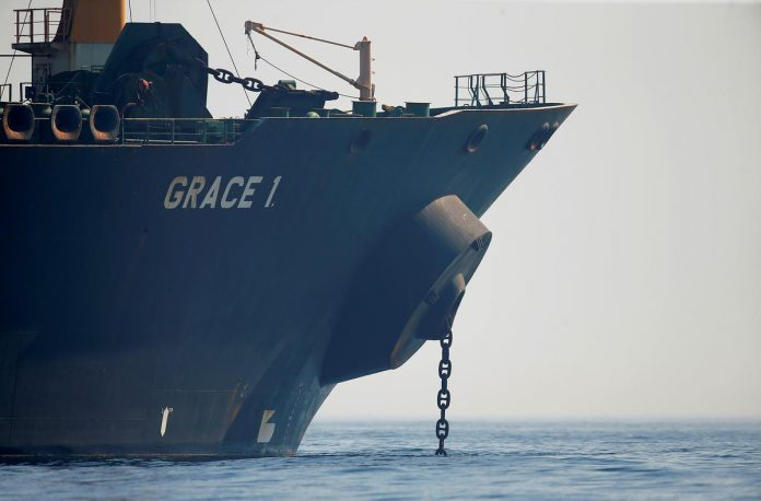 Gibraltar decides to free seized Iranian tanker; U.S. opens new case to hold it