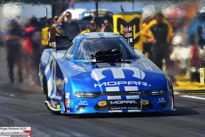 HAGAN FINDING MOMENTUM AT THE RIGHT TIME, LEADS FUNNY CAR FIELD FRIDAY AT BRAINERD