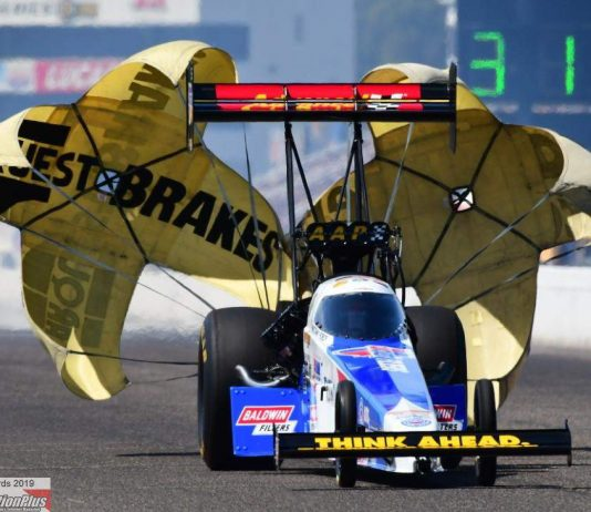 FORCE SURPRISES WITH TOP FUEL NO. 1 ON FINAL PASS