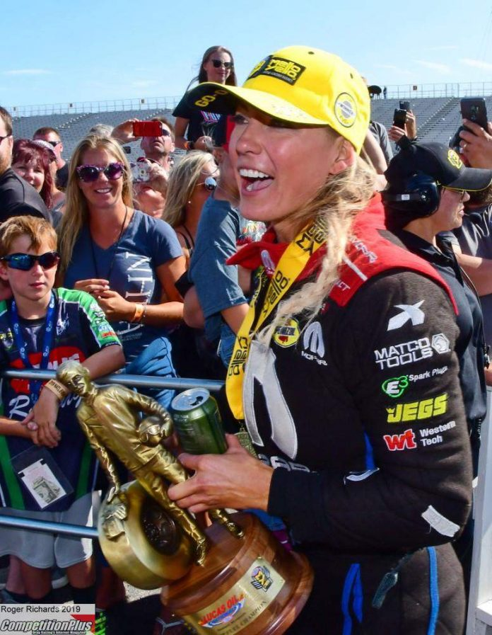PRITCHETT PUTS DSR BACK IN TOP FUEL WINNER'S CIRCLE FOR FIRST TIME IN OVER A YEAR