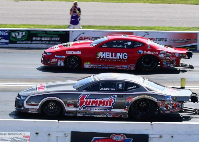 LINE EARNS FIRST PRO STOCK WIN AT HOME TRACK WITH FLAWLESS WEEKEND