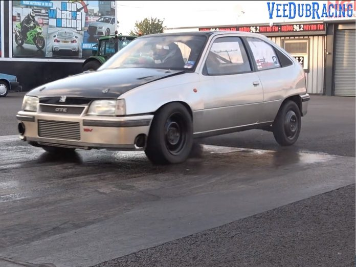 The Rusty Bullet Vauxhall Astra Takes Down A GTR