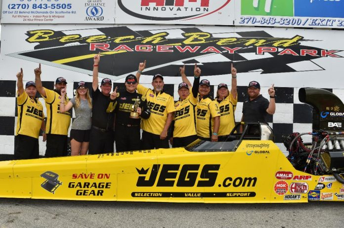 COUGHLIN SCORES THIRD TAD WIN OF THE SEASON