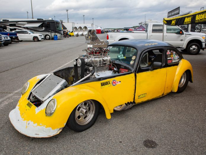 Mike Rowan's Wild Blown 1961 Beetle