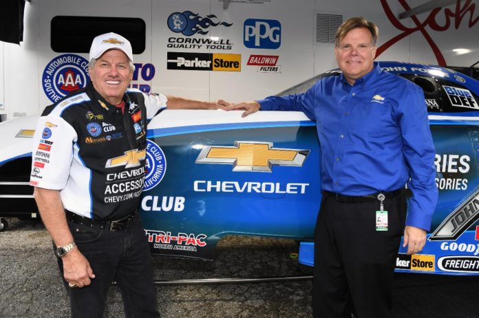 CHEVROLET EXTENDS FORCE CONTRACT | Competition Plus
