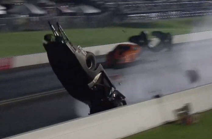 Pro Mod Racer Chad Green's Frightening Indy Crash
