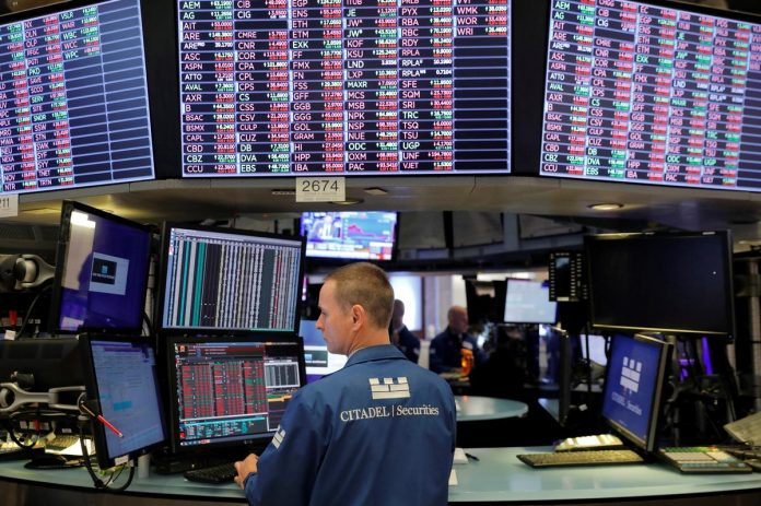 Wall St. opens higher as robust Chinese data eases growth concerns