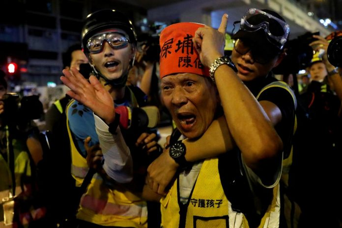 Hong Kong protesters call on Trump to 'liberate' the city