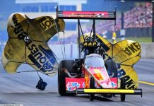 FORCE SETS NATIONAL TOP FUEL RECORD, CAPPS, ENDERS, SAMPEY PICK UP TOP SPOTS AT READING