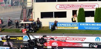 NO. 9-RANKED CRAMPTON SURPRISES TOP FUEL FIELD WITH VICTORY IN COUNTDOWN OPENER