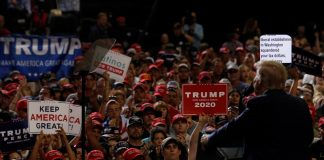 In New Mexico rally, Trump vows to flip state won by Clinton in 2016