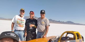 RENCK SETS NEW SALT FLATS WORLD RECORD