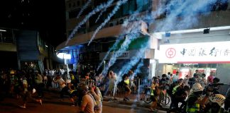 Hong Kong braces for airport protest after night of violent clashes