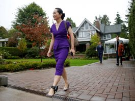 Huawei CFO arrives at Vancouver court for hearing expected to disclose arrest details