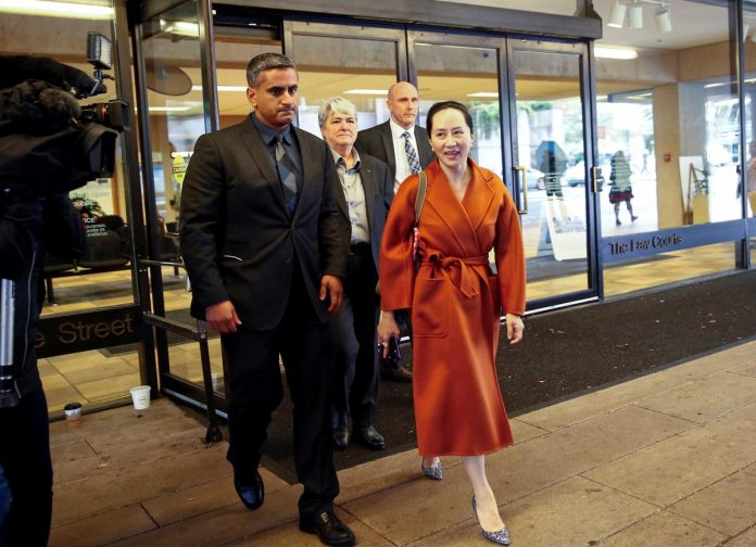 Canada says officials did not act improperly when arresting Huawei CFO