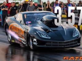 Marcus Birt Records Quickest Radial-Tire, Nitrous Run Of All-Time!